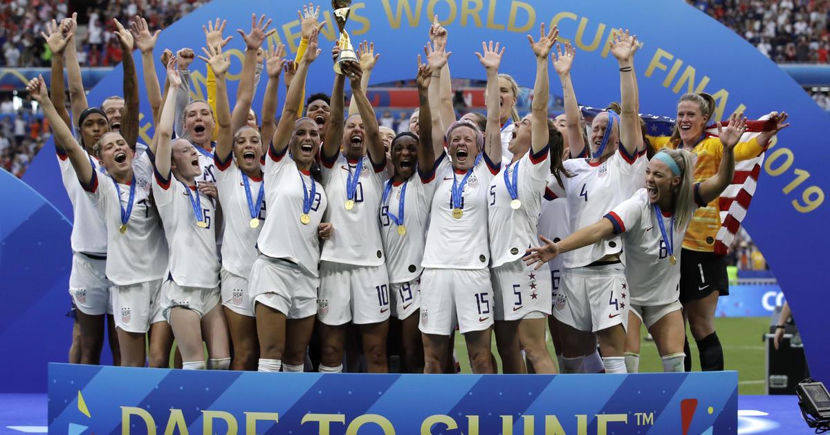 USWNT score USA wins 2019 FIFA Womens World Cup beat
