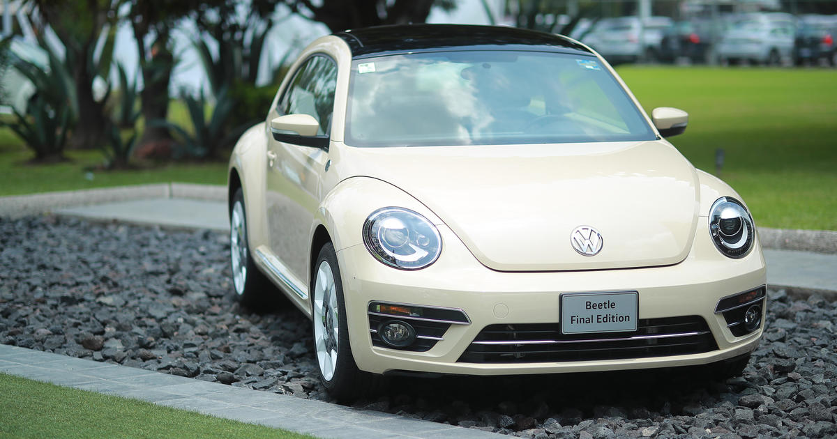 Volkswagen marks end of an era with production of the last VW Beetle