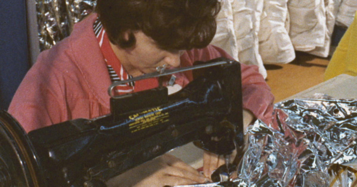 The seamstresses who helped put a man on the moon