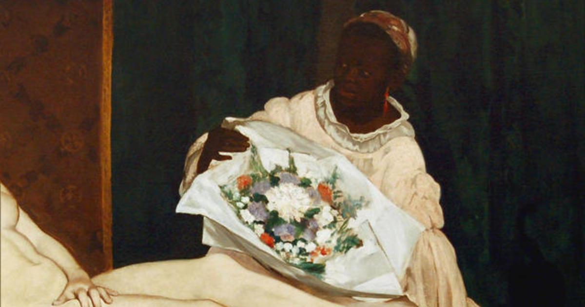 Black models in modern art