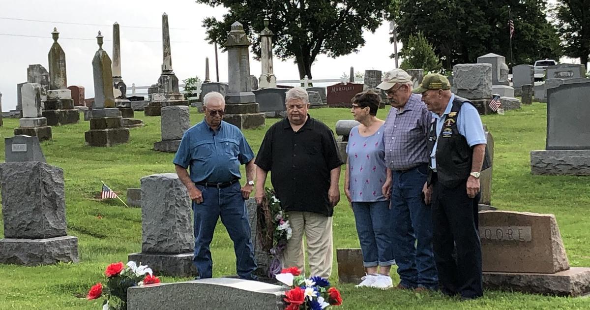 Vietnam veterans honor a fallen soldier 50 years later