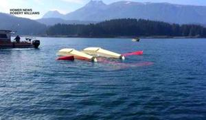 Floatplane crash in Alaska leaves 1 dead and several injured