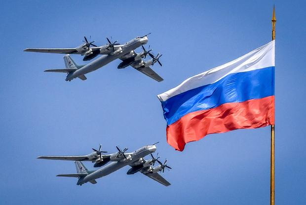 RUSSIA-HISTORY-WWII-VICTORY-DAY-PARADE-REHEARSAL