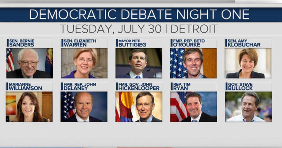 Previewing the 2nd Democratic presidential debate