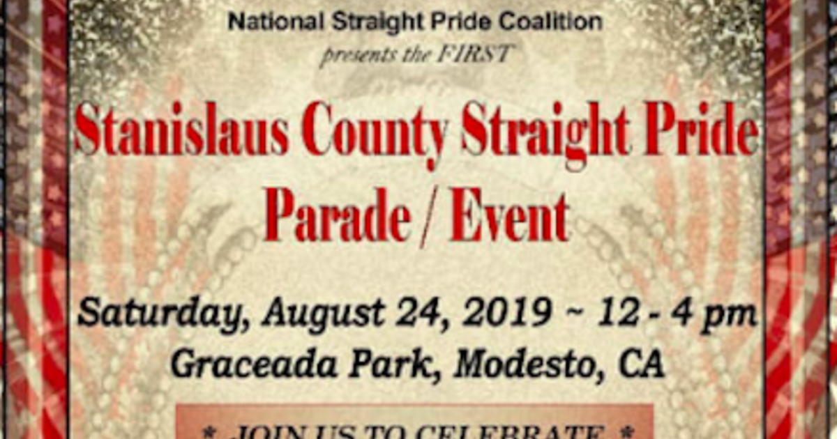 Modesto straight pride parade: Another