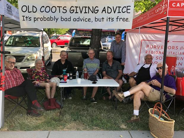 Image result for the old coots advice