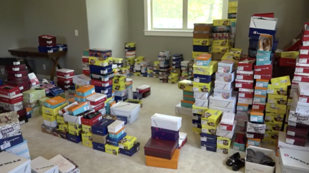 Good Samaritan buys out Payless shoe inventory to donate to the needy