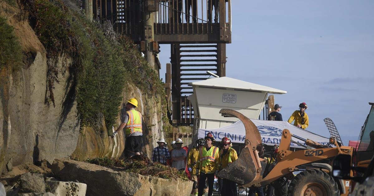 Encinitas collapse: Bluff collapse kills 3 on beach