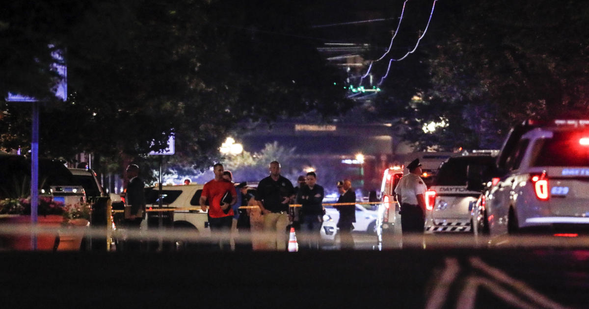 Dayton, Ohio shooter kills 9 and leaves 16 wounded - CBS News