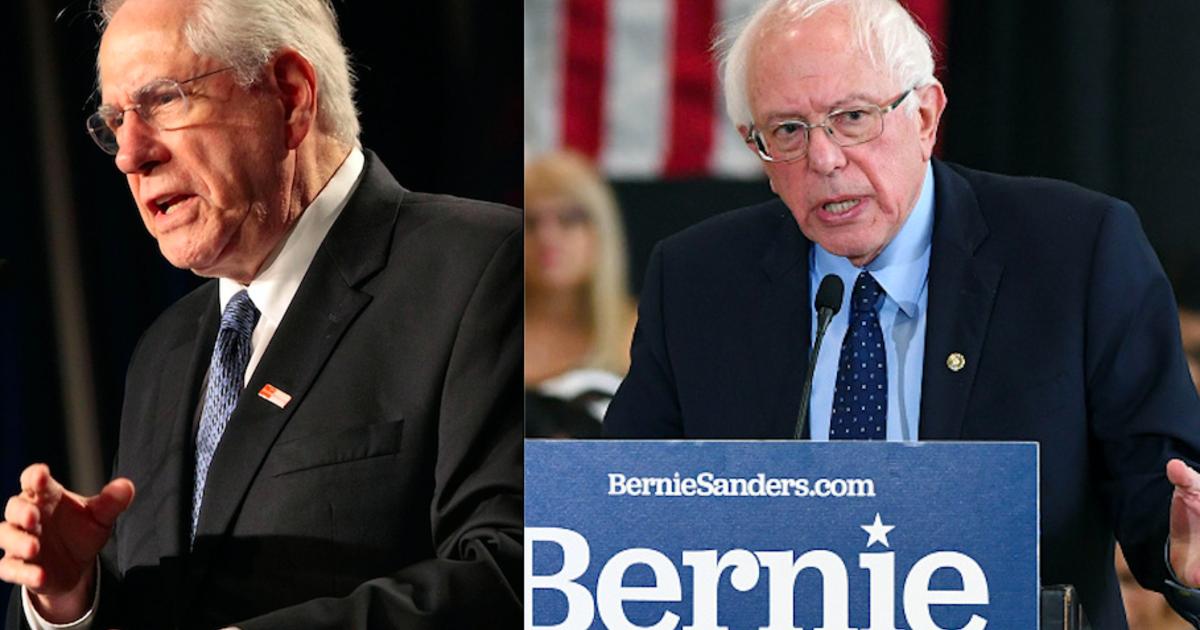 Mike Gravel endorses Bernie Sanders