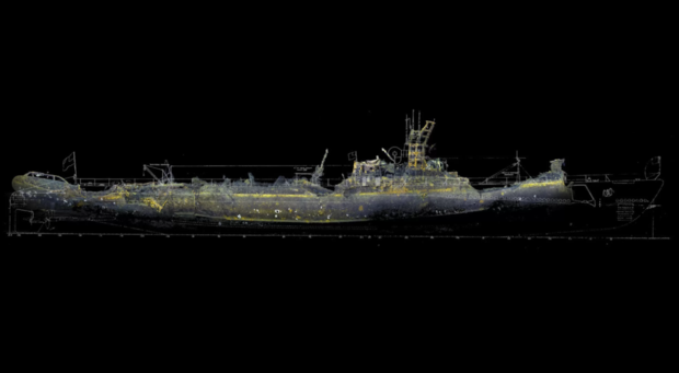 3D images show long-lost World War II-era submarine USS Grunion