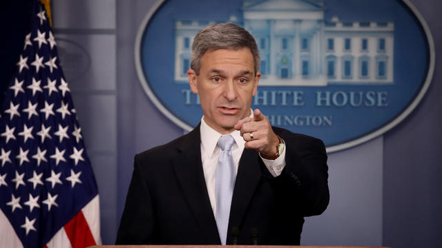 Citizenship And Immigration Acting Director Ken Cuccinelli Holds Press Briefing