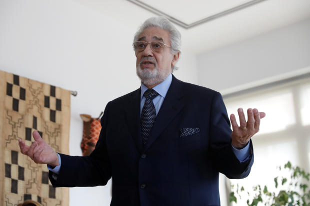 Opera singer Placido Domingo accused of sexual harassment