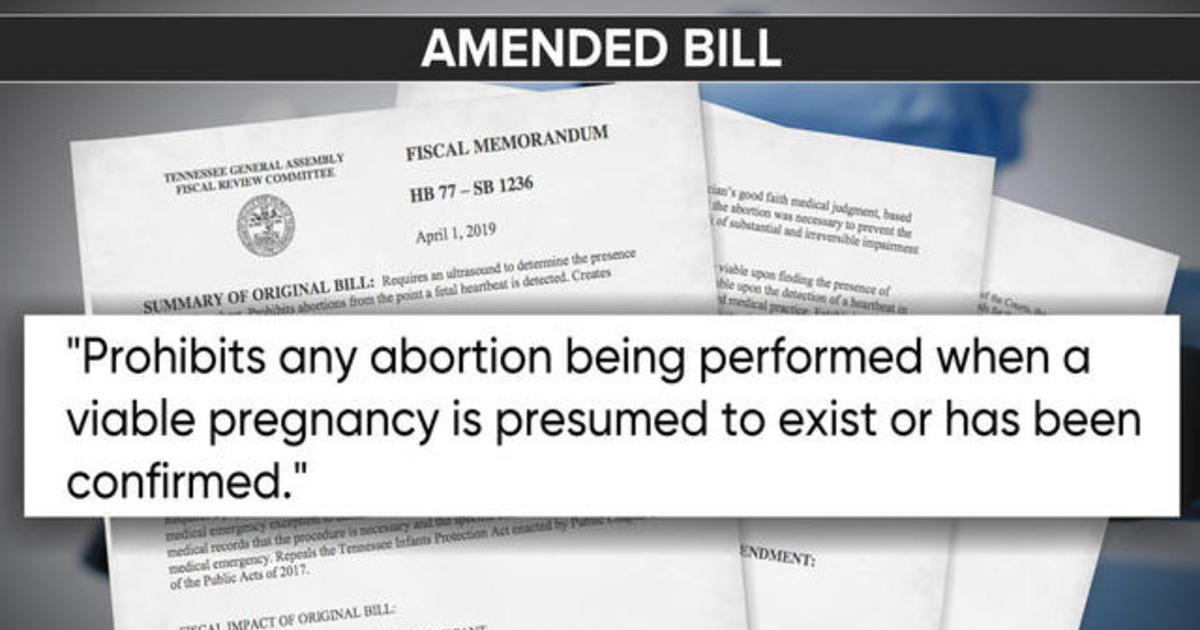 Tennessee lawmakers wrap up second day of debate on controversial abortion bill