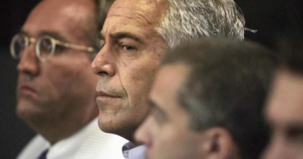 Jeffrey Epstein estate sued in new lawsuit over sexual abuse; case also names alleged co-conspirators Sarah Kellen and Lesley Groff - CBS News image