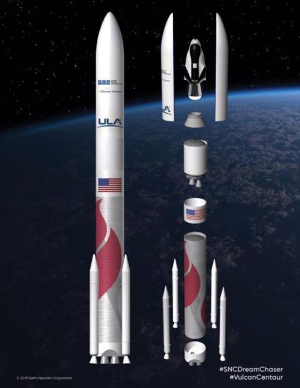 Sierra Nevada Picks ULA for Dream Chaser Launches