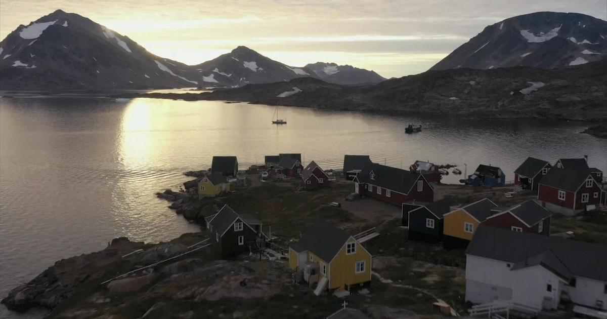 Trump buying Greenland? What residents told CBS News about Trump's plan to buy the island