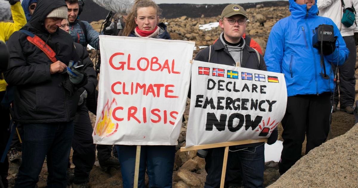 Support group helps to deal with psychological effects of climate change