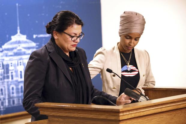 Rashida Tlaib and Ilhan Omar denounce Israel's travel restrictions
