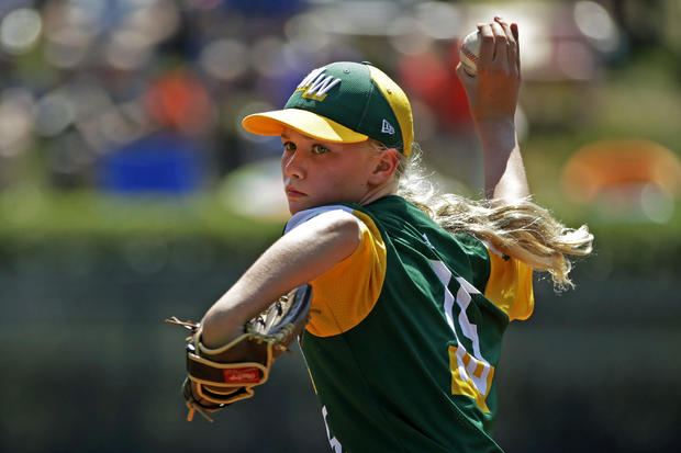 Maddy Freking Shines in Little League World Series Pitching Debut