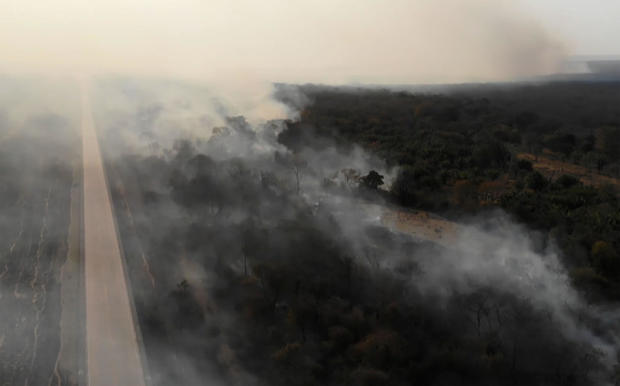 BOLIVIA-ENVIRONMENT-DISASTER-FIRE