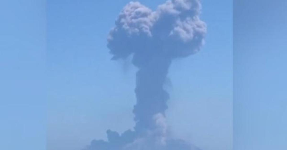 Italy's Stromboli Volcano Erupts For 2nd Time Since July