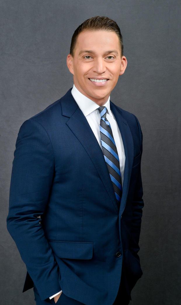 CBS News correspondent Manuel Bojorquez