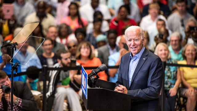 Democratic Presidential Candidate Joe Biden Holds South Carolina Town Hall