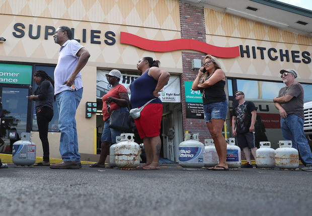 Florida preparing for the arrival of Hurricane Dorian