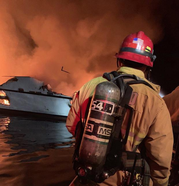 Boat fire: 4 bodies recovered, 4 located, dozens missing, 5