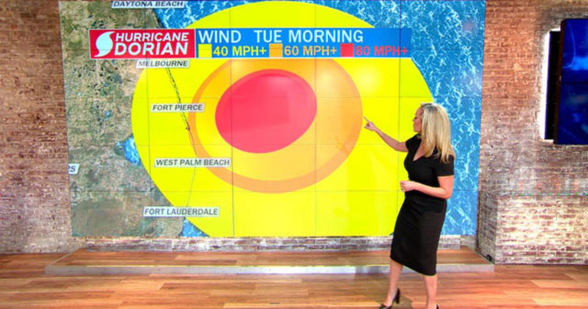 Hurricane Dorian forecast: Slow-moving Category 5 storm