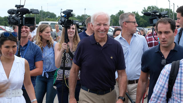 Democratic Presidential Candidate Joe Biden Attends Labor Day Picnic In Iowa