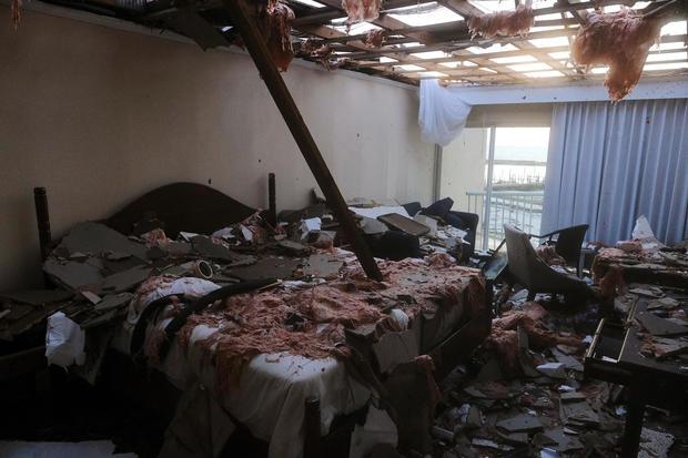Hurricane Dorian's devastation