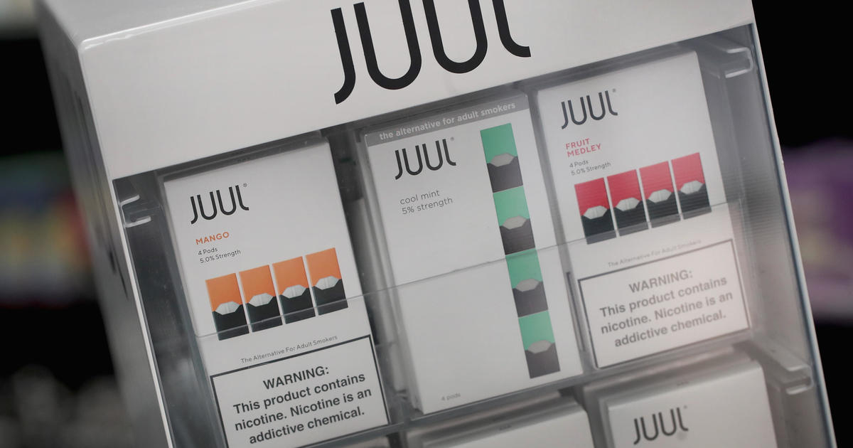 as the u s cracks down on vaping juul expands to cbs news