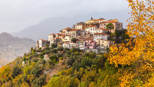 Impressive Colli Al Volturno,Beautiful Village In Molise,Italy.