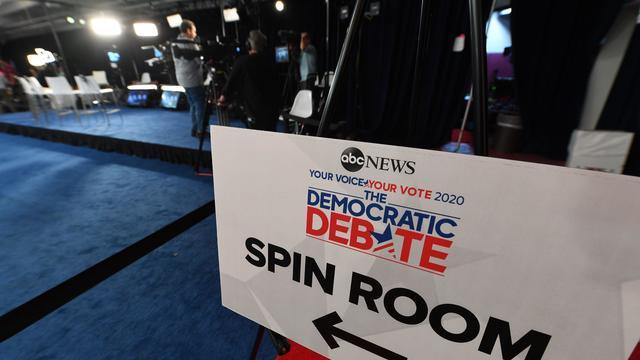 US-POLITICS-DEMOCRATS-DEBATE-PREP