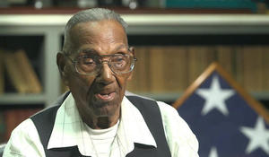 U.S's oldest living WWII veteran celebrates his 110th birthday