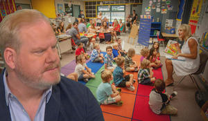 """Jim Gaffigan on parents going """"back to school"""""""