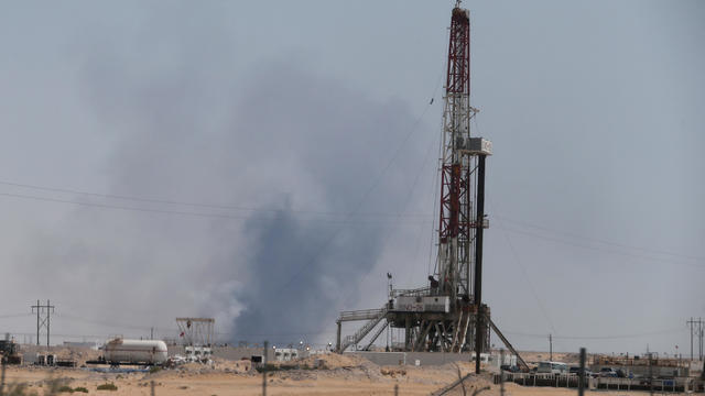 Saudi Arabia oil site attach
