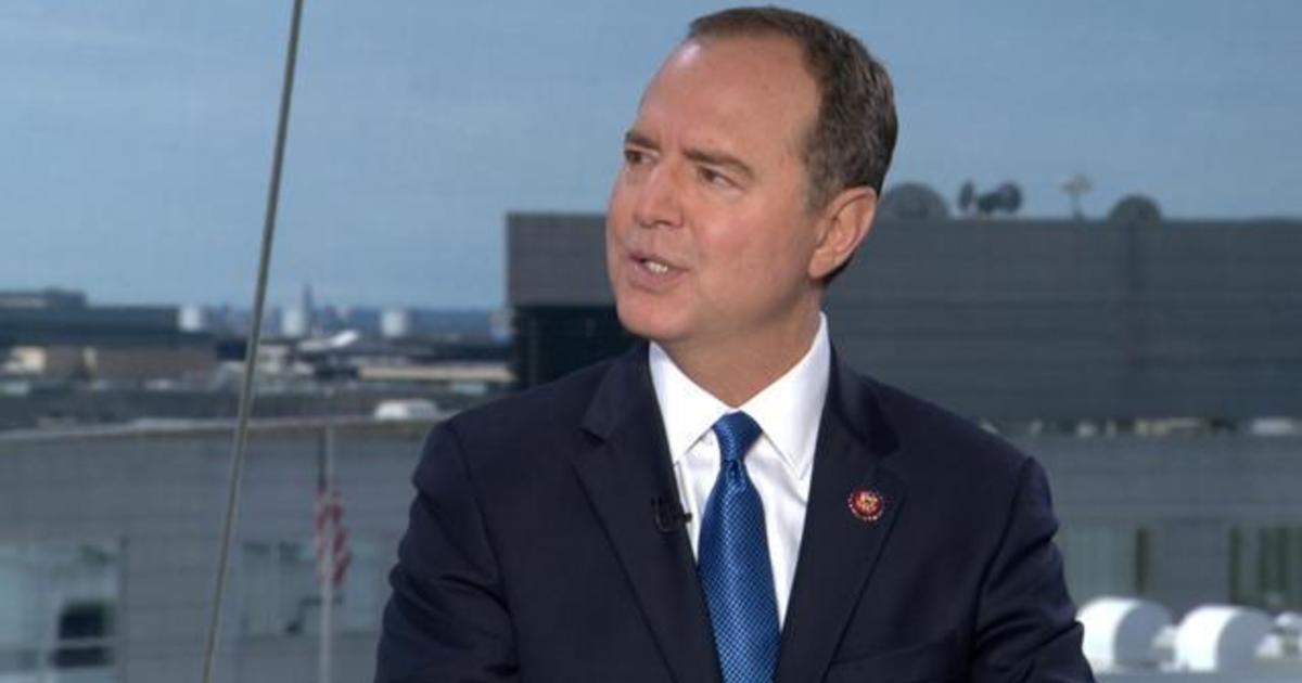 "Representative Schiff says Trump ""should"" continue negotiating with the Taliban"