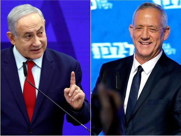 Israel election: Exit polls show rocky political future for PM Benjamin Netanyahu
