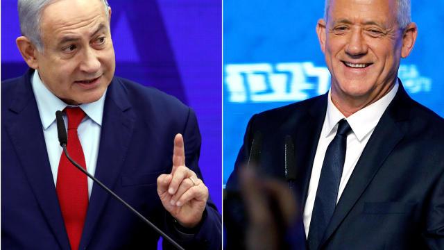 Benjamin Netanyahu | Benny Gantz