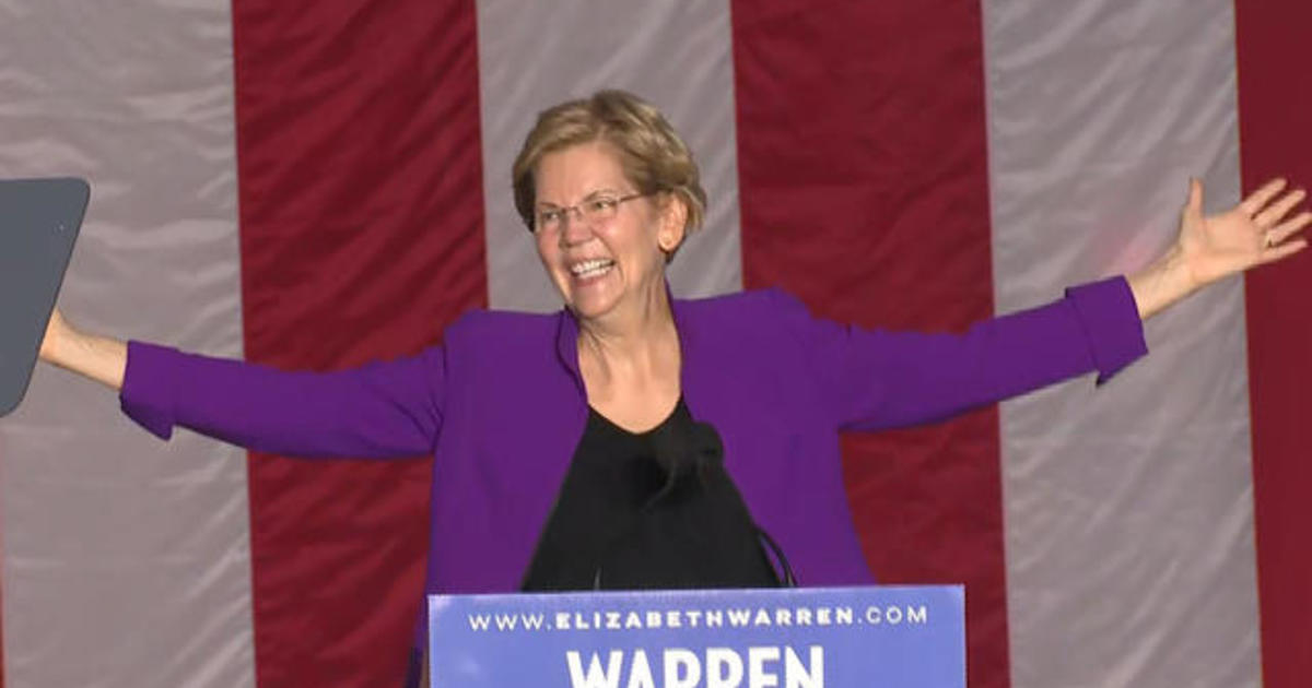 2020 Daily Trail Markers: Elizabeth Warren holds rally in New York City