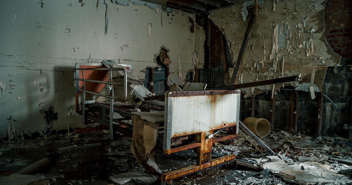 Abandoned Hospitals World S Most Eerie Locations Cbs News