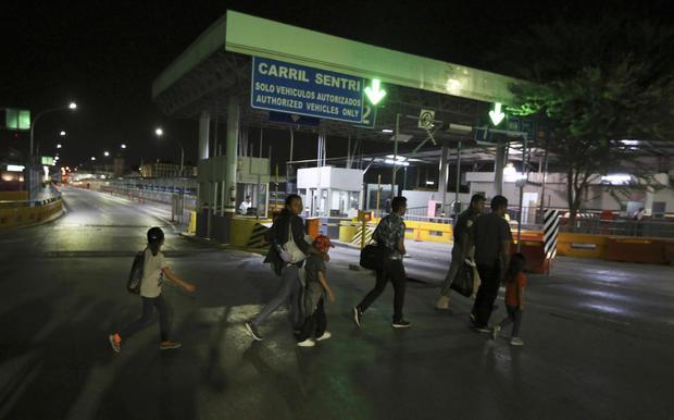 Mexico US Asylum Seekers