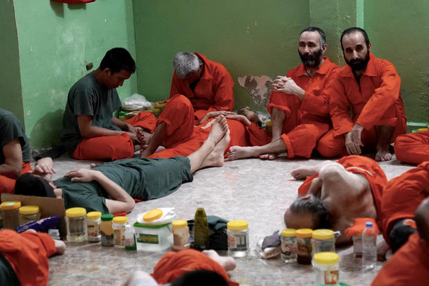 Inside a prison full of alleged ISIS fighters