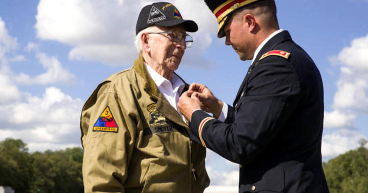 """WWII """"Hero of Cologne"""" awarded Bronze Star in surprise ceremony"""