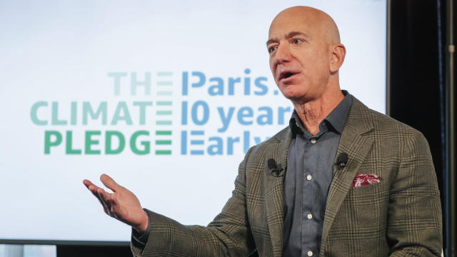 Amazon CEO Jeff Bezos — The Climate Pledge