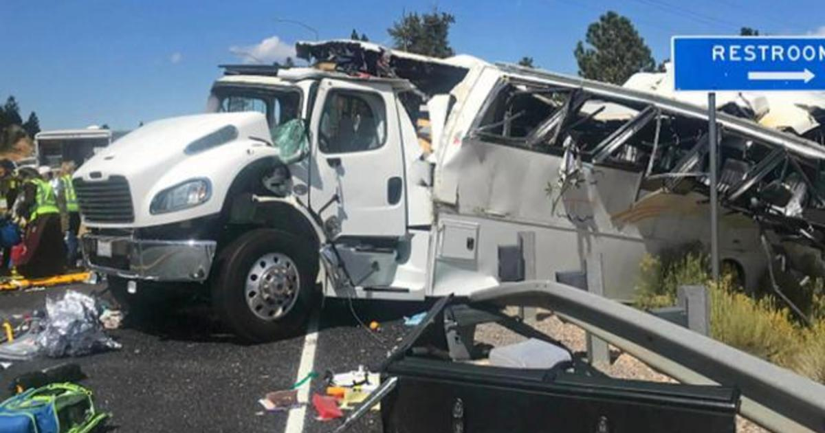 At least 4 killed in Utah tour bus crash