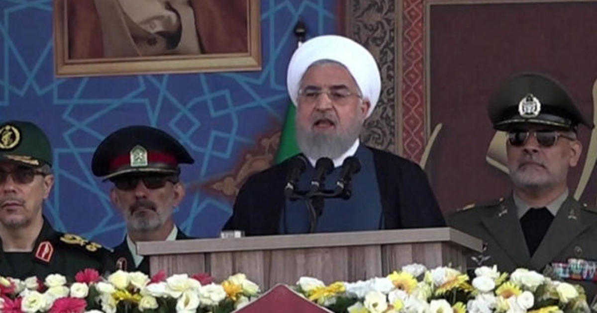 "Iran president tells western nations to ""stay away"" from Persian Gulf"
